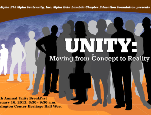 2012 Unity Breakfast Program Book & Artwork