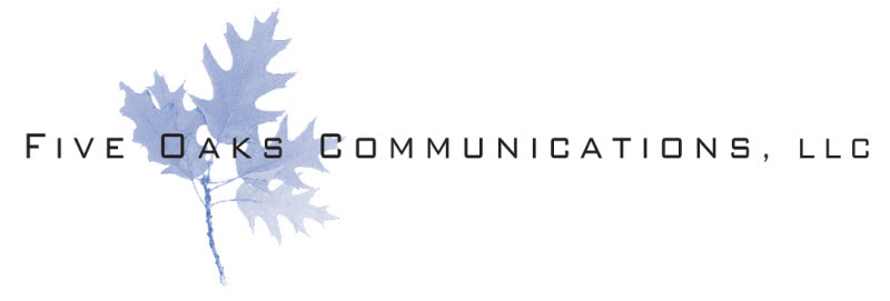 Five Oaks Communications, Frankfort Kentucky Retina Logo