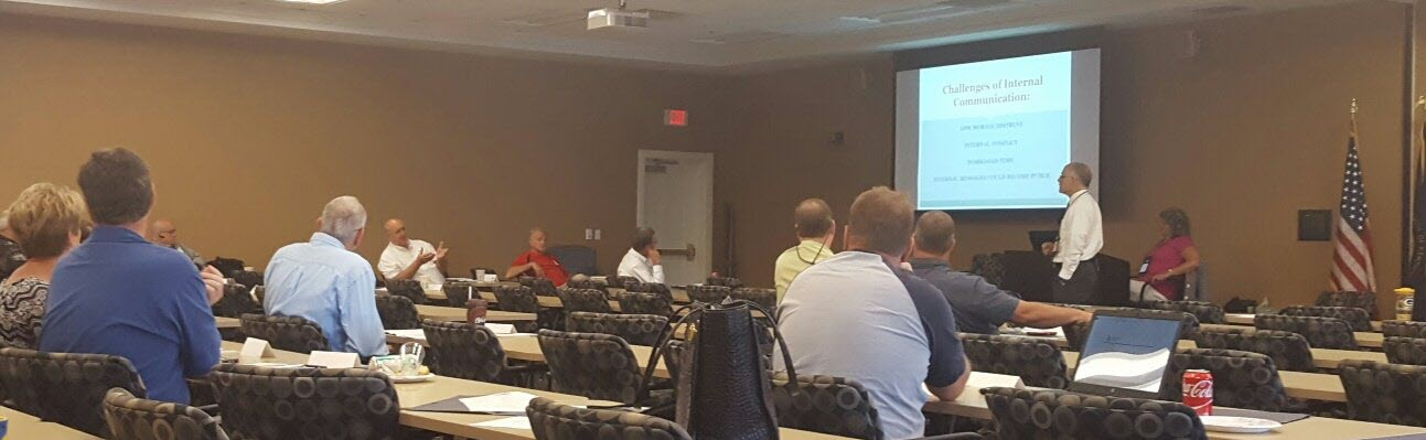 Communication training on public relations and website design for the Kentucky Association of Counties